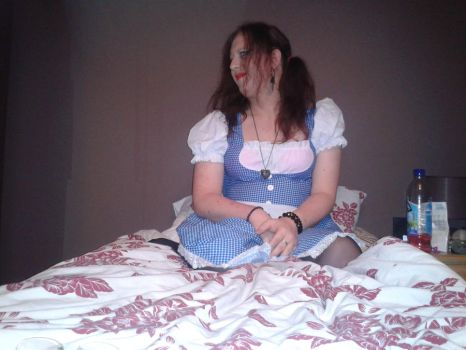 my dorothy costume for halloween nught out x by LeahBlake