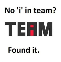 no I in team by patchy684