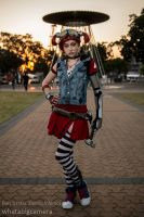 Gaige the mecromancer. by EveyDantes