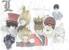 L in Wonderland - Colored by Vexic929