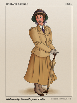 Historically Accurate Jane Porter by Wickfield