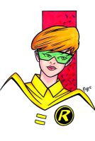 Illustrious Bits Week 31: Robin - Carrie Kelly by RichBernatovech