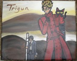 Trigun Painting by FoxTrotProducts