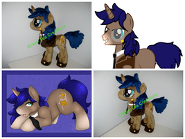 OC stallion plush by GreenTeaCreations