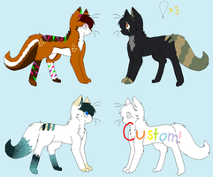 Feline Adopts - CLOSED by Sapphira-Page