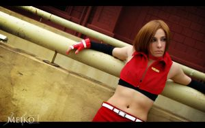 Meiko Vocaloid Cosplay 10 by Bastetsama-Cosplay
