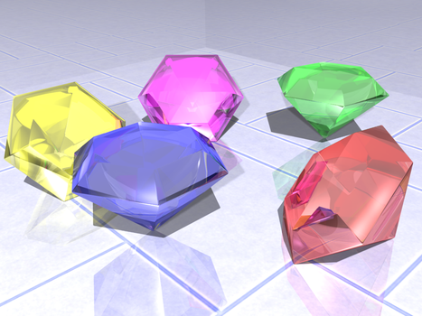 Chaos Emeralds by NioZero
