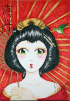 Hope for Japan - The Geisha by SweetSophie