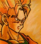 Future Gohan Post-It by vandonovan