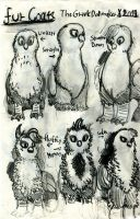 Junuary Edition Gryphons: Volume 2 Page 2 by TheGreekDollmaker