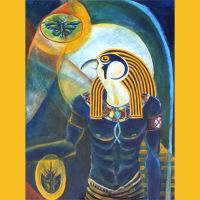 Blue Horus by RobLock