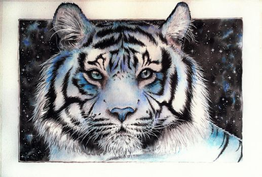 Frost tiger by red-fox-child