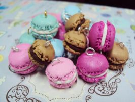 cute macaron2 by KPcharms