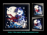 Bronycon 14 Charity Auction Rarity Shadowbox by The-Paper-Pony
