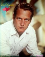 Paul Newman by HalloweenMAGE