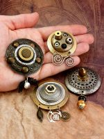 Steampunk fridge magnets by janedean