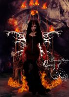 Queen of Hell by Love-and-Blades