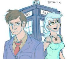 The Doctor and Lyra by Dishdude87