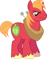 angry Big Macintosh by BaumkuchenPony