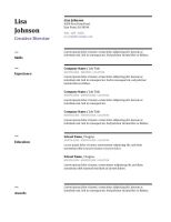 Statistician Resume Template by resumetemplates2016