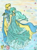 Lord wind and lady sea by neptunestears