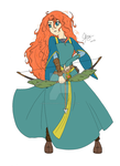 Guardian spirit Merida by 8malkuthvendetta8