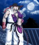 Ryu and Juri Dragon's touch Spider's Kiss by Shouhda