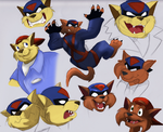 Swat Kats Doodles by Aspendragon