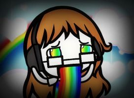 I ACCIDENTALLY A RAINBOW, OH GOD, THE RAINBOWS by Emily-AND-Flandre