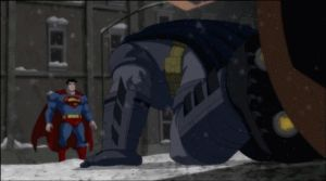 Superman VS Batman by Tsotne-Senpai