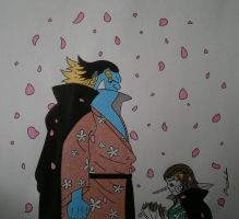 FA: Jinbei and Me by Alicetiger