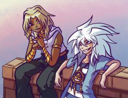 YGO- Asshole BFFs by RasTear