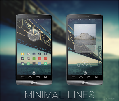 Minimal Lines by Supermix1337
