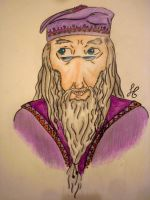 dumbledore by viveie
