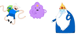 Pixel Dump Adventure Time by ZombieInPink