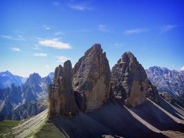 Tre Cime by CogitoErgoRum