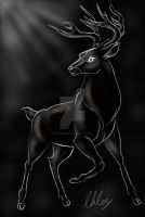 the black stag by ChloeMonster