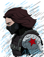 The Winter Soldier by The-Winter-Phoenix