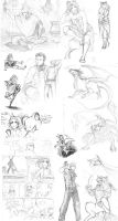Sketchdump Thing 2 by euclidstriangle