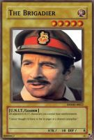 Brigadier Trading Card by RMan021