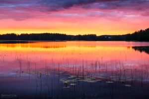 Sunrise in Eerolanlahti 07.15 by m-eralp