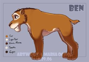 Ice Age Fan-character - Ben by agra19