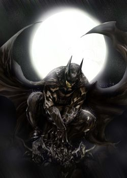 Batman Coloring by Rene-L