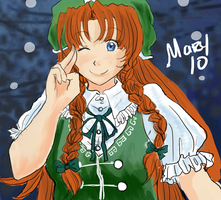 TH - Hong Meiling by Meari-chan