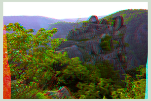 Near the Witches' Dance Floor :::: DRi Anaglyph 3D by zour