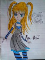 .:: Death Note - Misa Misa::. by BarrowmanFan