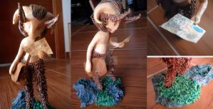 Faun Sculpture I by MiharuAkimoto