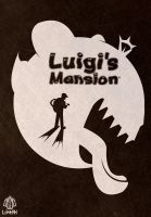 Luigis Mansion Poster by Loweak