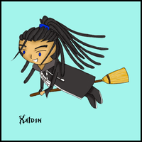 Joke Weapons: Xaldin by shiraoi