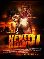 NEVER BACK DOWN WRESTLING EDT. by gfxground